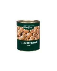 GOODBURRY WHOLE MUSHROOMS - 800GR