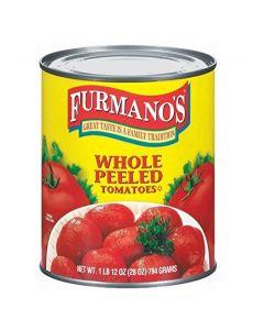 WHOLE PEELED TOMATOES - 3KG