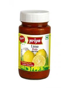 PRIYA INDIAN LIME PICKLES - 300GR