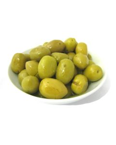 GREEN OLIVES - 560GR