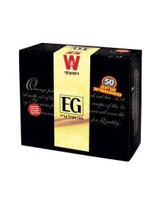 EARL-GREY TEA BAGS IN ENVELOPES - 100X2GR
