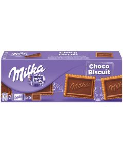 MILKA CHOCO MILK CHOCOLATE WITH BISCUIT - 300GR