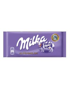 MILKA MILK CHOCOLATE - 100GR