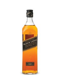 JOHNNIE WALKER BLACK LABEL 12 YEAR OLD SCOTCH WHISKY - 100CL / 6 = $165