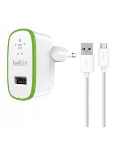 BELKIN CHARGER F8M667vf04 WHITE FOR SMARTPHONE & TABLET