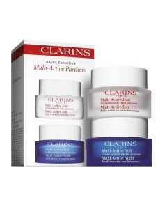 CLARINS MULTI ACTIVE PARTNERS DAY 50ML+ NIGHT 50ML