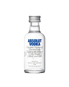 ABSOLUT VODKA BLUE MINIATURE - 5CL