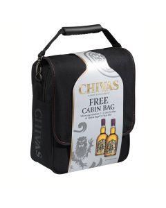 CHIVAS REGAL 12 YEAR SCOTCH WHISKY CABIN BAG - 2X100CL