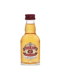 CHIVAS REGAL 12 YEAR OLD SCOTCH WHISKY - 5CL