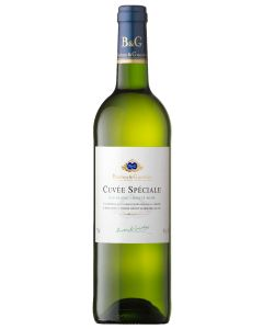 B&G CUVEE SPECIALE BLANC [VDT] WHITE WINE - 75CL