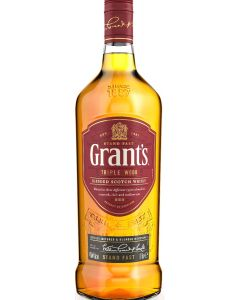 WILLIAM GRANT'S TRIPLE WOOD SCOTCH WHISKY 43%  @100CL.BOT